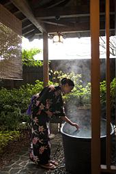 信楽焼陶製風呂